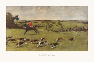 South Dorset Hunt by Cecil Aldin
