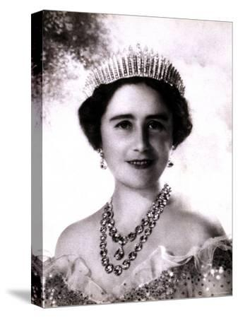 Her Majesty Queen Elizabeth, the Queen Mother, in Tiara and Gown, 4 August 1900 - 30 March 2002