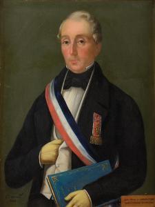 Portrait of André Henri François Victor Carrion-Nisas (1794-1867), 1854 by Cecil Beaton