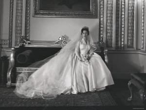 Portrait of the Late Princess Margaret on Her Wedding Day by Cecil Beaton