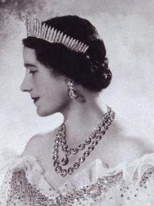 Portrait with Tiara of Her Majesty Queen Elizabeth, the Queen Mother by Cecil Beaton