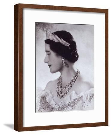 Portrait with Tiara of Her Majesty Queen Elizabeth, the Queen Mother