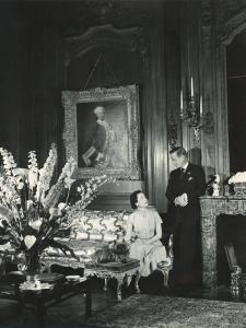 The Duke and the Duchess of Windsor in Paul Louis Weiller's House, Paris, France, 1949 by Cecil Beaton
