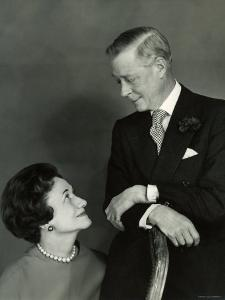 The Duke and the Duchess of Windsor, Prince Edward, Formerly King of the United Kingdom by Cecil Beaton