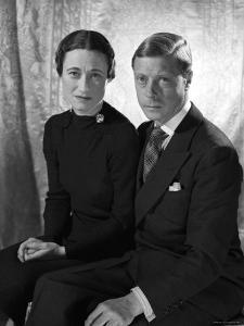 The Duke and the Duchess of Windsor, Prince Edward with Wallis Simpson by Cecil Beaton