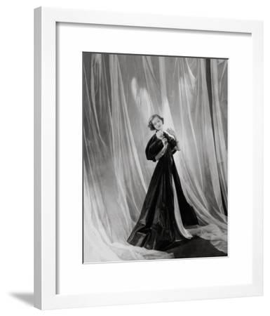 Vogue - April 1934 - Mary Taylor in Vionnet Gown