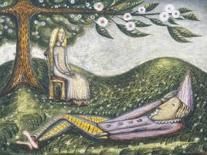 The Sleeping Fool by Cecil Collins
