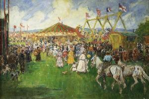 The Country Fair by Cecil Gordon Lawson