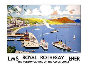 Royal Rothesay, the Holiday Capital of the Clyde by Cecil King