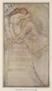 Princess and the Pea by Cecile Walton
