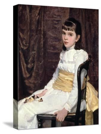 A Little Girl, 1887 by Cecilia Beaux