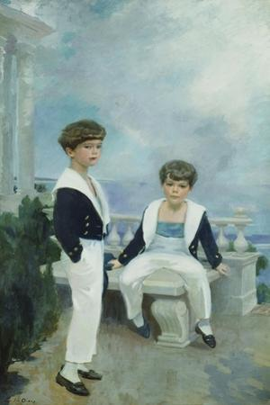 The Velie Boys by Cecilia Beaux