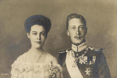 Cecilie Und Friedrich Wilhelm Von Preußen, Portrait--Giclee Print
