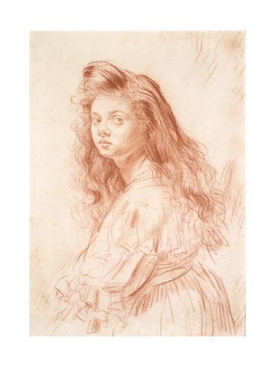 Cecily Beresford Hope-Augustus Edwin John-Giclee Print