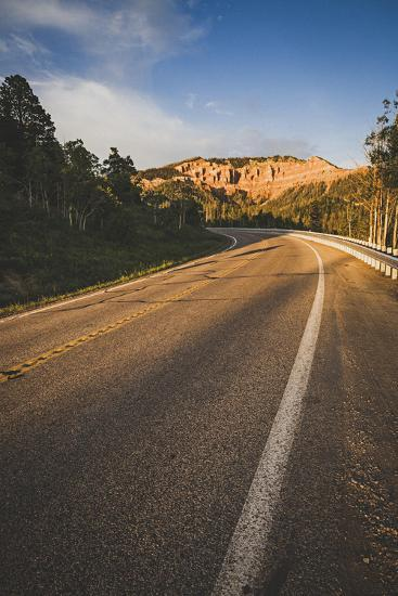 Cedar Canyon, Scenic Byway, State Road 14, Utah-Louis Arevalo-Photographic Print