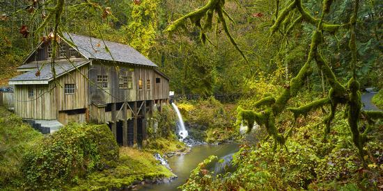 Cedar Creek Grist Mill-Moises Levy-Photographic Print
