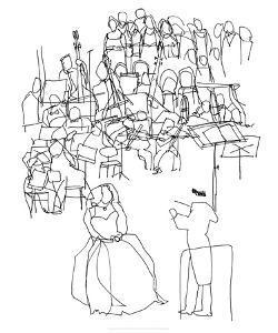 Orchestre, c.2009 by Cédric Chauvelot
