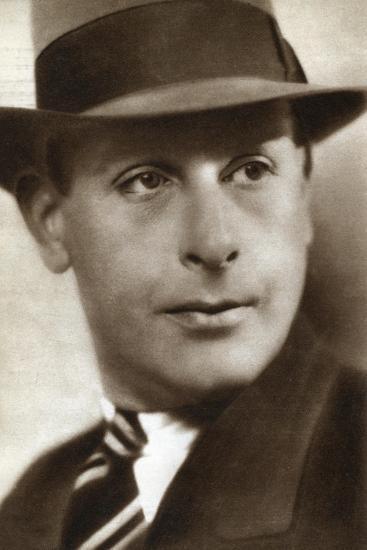 Cedric Hardwicke, English Actor, 1933--Giclee Print