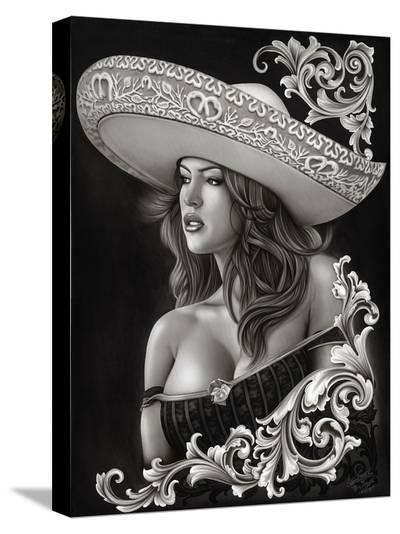 Ceeze Charra-Big Ceeze-Stretched Canvas Print
