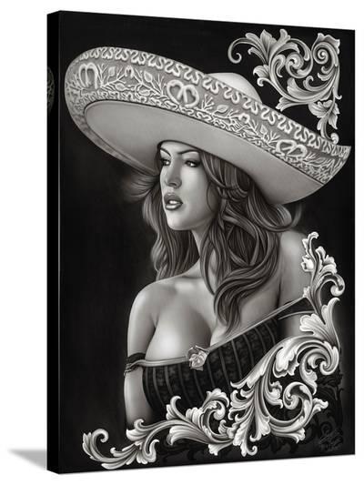 Ceeze Charra- Big Ceeze-Stretched Canvas Print