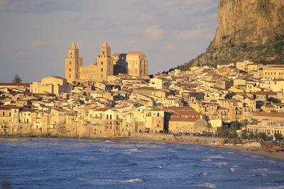 Cefalu, Palermo District, Sicily, Italy, Mediterranean, Europe-Bruno Morandi-Photographic Print