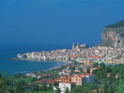 Cefalu, Sicily, Italy-Frank Chmura-Photographic Print