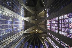 Ceiling and Stained Glass, Aachen Cathedral