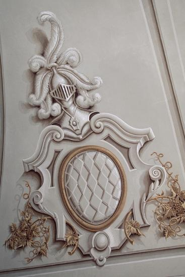 Ceiling Decoration from the Upper Gallery--Giclee Print