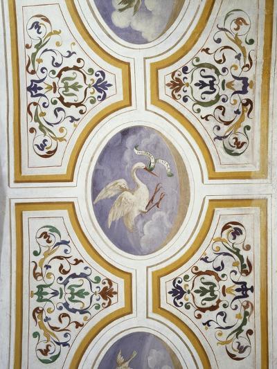 Ceiling Decoration, Villa Cicogna Mozzoni, Bisuschio, Italy, 16th Century--Giclee Print
