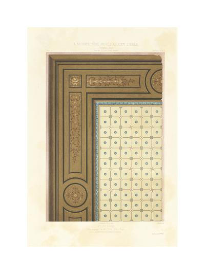 Ceiling Design--Premium Giclee Print