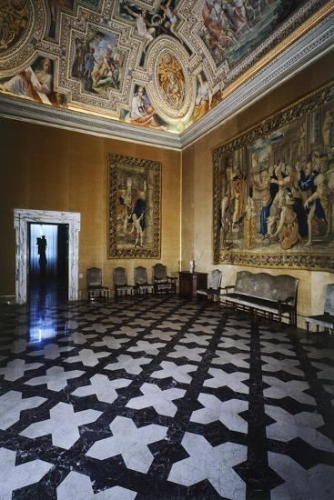 Ceiling Detail, Hall of David, Lateran Palace, Rome, Vatican City, Italy, 16th Century--Giclee Print