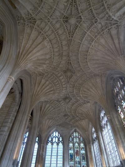 Ceiling Detail, Peterborough Cathedral, Peterborough, Cambridgeshire, England-Ethel Davies-Photographic Print