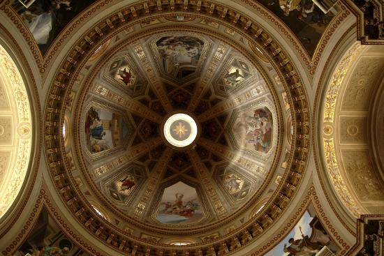 Ceiling of Cathedral of St Eusebius, Vercelli Cathedral, Piedmont, Italy--Photographic Print