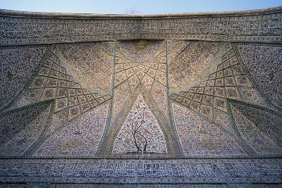 Ceiling of Eastern Iwan of Vakil Mosque--Giclee Print