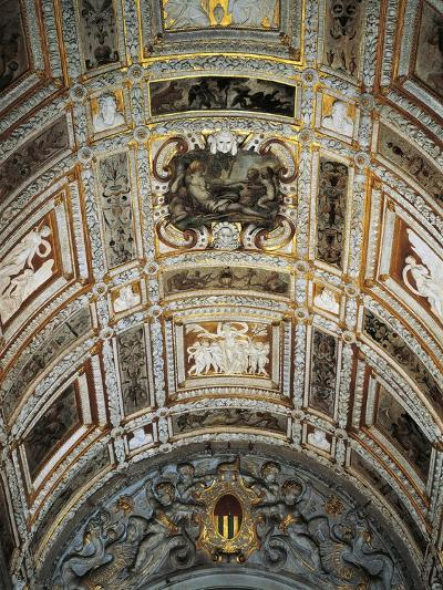 Ceiling of Golden Staircase at Doge's Palace-Jacopo Sansovino-Giclee Print