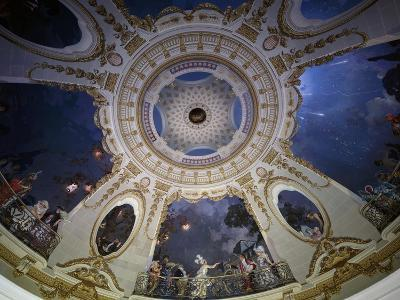 Ceiling of Rotunda Painted by Francois Coty--Giclee Print