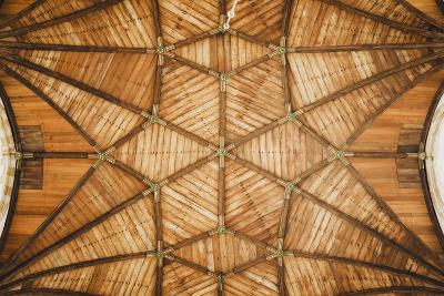 Ceiling Of St Bavo Cathedral, Haarlem, Netherlands. Built In 1520-Louis Arevalo-Photographic Print
