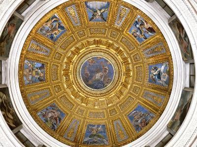Ceiling of the Chigi Chapel, Santa Maria Del Popolo, Rome--Photographic Print