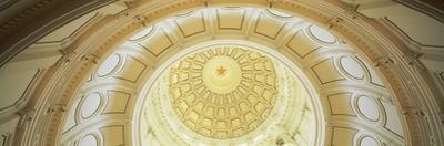 Ceiling of the Dome of the Texas State Capitol Building, Austin, Texas, USA