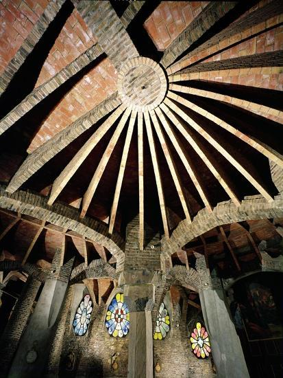 Ceiling of the Guell Crypt, 1908-15-Antoni Gaud?-Giclee Print