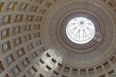 Ceiling of the Sala Rotonda, Round Hall, Vatican Museums, Rome, Italy--Giclee Print
