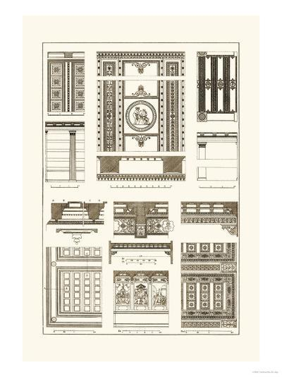 Ceilings with Visible Course of Beams-J^ Buhlmann-Art Print