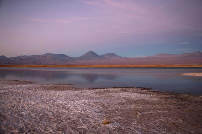 Cejar, a Series of Three Ponds Located in the Middle of the Salt Lake-Mallorie Ostrowitz-Photographic Print