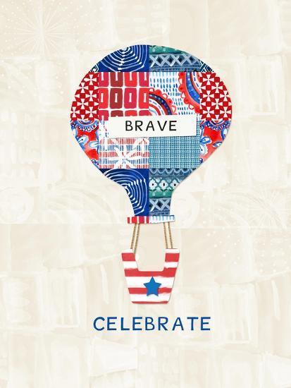 Celebrate Brave-Linda Woods-Art Print