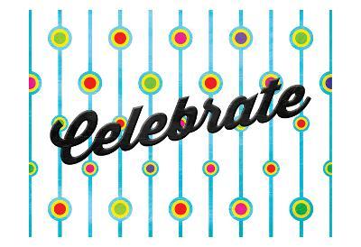 Celebrate Dots-Jace Grey-Art Print
