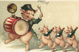 Celebrating Pigs