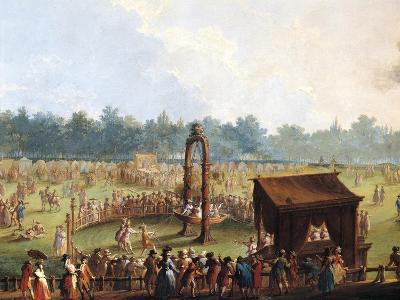 Celebration at Cascine in Honor of Ferdinand Iii--Giclee Print