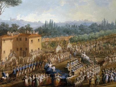 Celebration at Farmsteads in Honor of Ferdinand Iii--Giclee Print