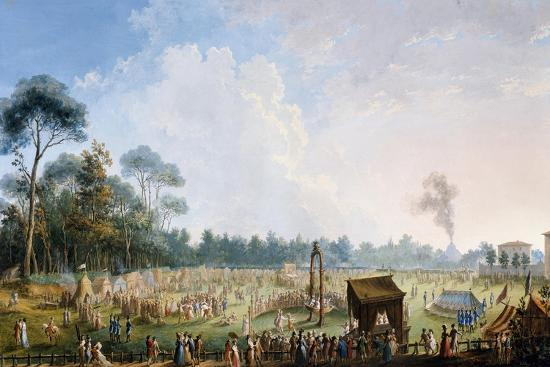 Celebration at the Cascine in Honour of Ferdinand Iii--Giclee Print