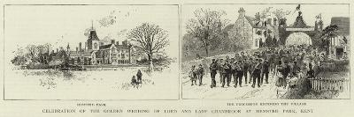 Celebration of the Golden Wedding of Lord and Lady Cranbrook at Hemsted Park, Kent--Giclee Print